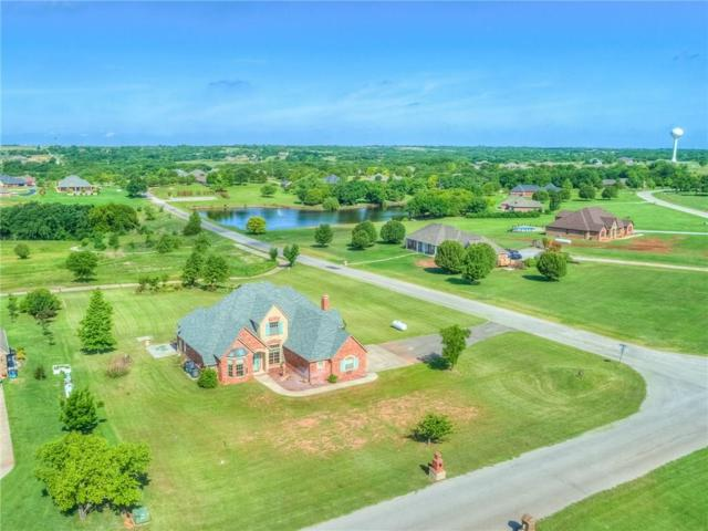 2165 Four Lakes, Blanchard, OK 73010 (MLS #820907) :: KING Real Estate Group