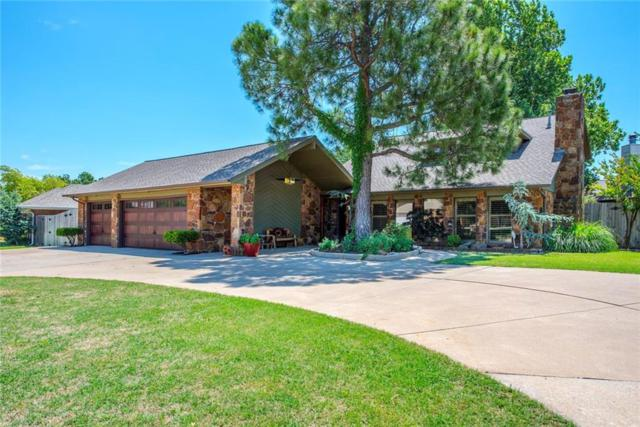 6904 Basswood Canyon Road, Oklahoma City, OK 73162 (MLS #821143) :: Wyatt Poindexter Group