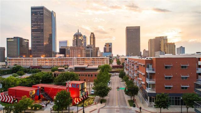 1 NE 2nd Street #412, Oklahoma City, OK 73104 (MLS #821476) :: Erhardt Group at Keller Williams Mulinix OKC