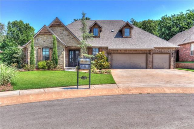 2701 Rustic Road, Edmond, OK 73034 (MLS #821830) :: Wyatt Poindexter Group