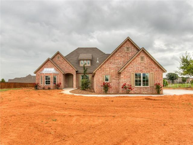 660 Fox Drive, Choctaw, OK 73020 (MLS #822814) :: Wyatt Poindexter Group