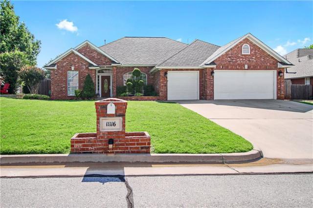 11116 N Kingswick Drive, Oklahoma City, OK 73162 (MLS #823004) :: Erhardt Group at Keller Williams Mulinix OKC