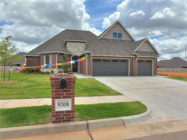 9308 NW 80th Street, Yukon, OK 73099 (MLS #823563) :: Wyatt Poindexter Group