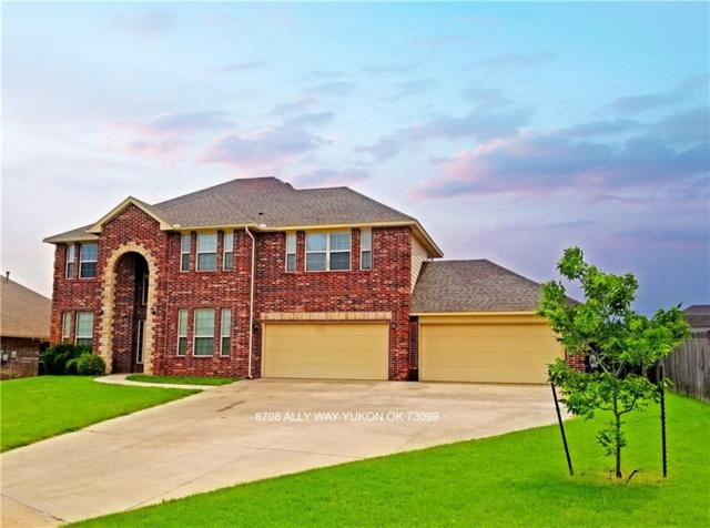 8708 Ally Way, Yukon, OK 73099 (MLS #823564) :: Homestead & Co