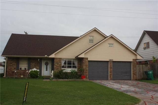 1624 SW 81st Street, Oklahoma City, OK 73159 (MLS #824404) :: Wyatt Poindexter Group