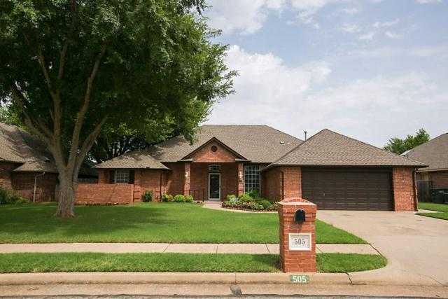 505 Sparrow Hawk, Edmond, OK 73003 (MLS #825043) :: Wyatt Poindexter Group