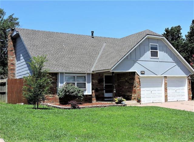 401 S Morgan Drive, Moore, OK 73160 (MLS #825881) :: Barry Hurley Real Estate