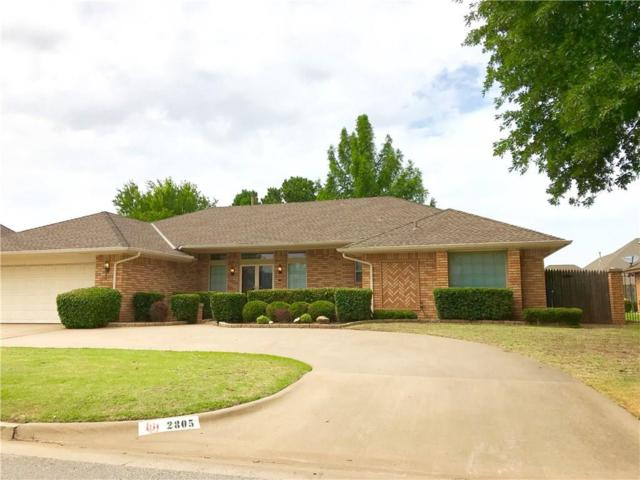 2805 SW 110th Street, Oklahoma City, OK 73170 (MLS #827857) :: Wyatt Poindexter Group