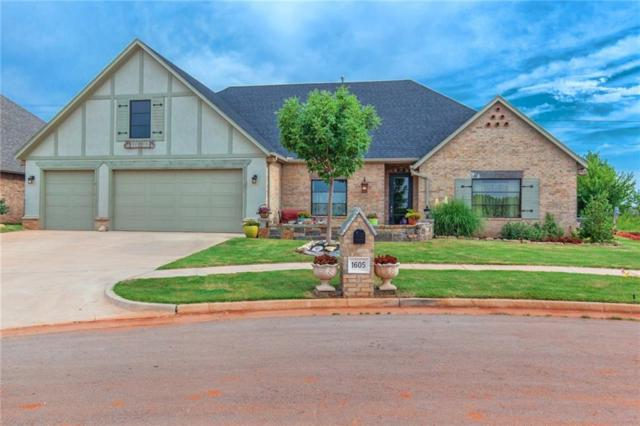 1605 NW 199th Street, Edmond, OK 73012 (MLS #828764) :: Wyatt Poindexter Group