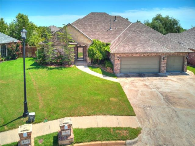 4340 Gallant Fox Drive, Edmond, OK 73025 (MLS #830723) :: Wyatt Poindexter Group