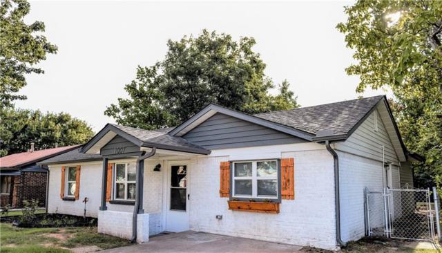 1007 Bell Drive, Midwest City, OK 73110 (MLS #831317) :: Wyatt Poindexter Group