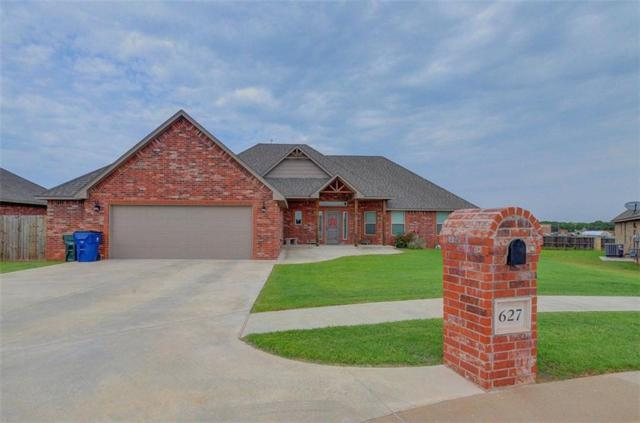 627 Tewksbury Lane, Blanchard, OK 73010 (MLS #832265) :: Erhardt Group at Keller Williams Mulinix OKC