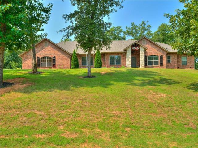 19565 Dove Lane, Newalla, OK 74857 (MLS #832917) :: Wyatt Poindexter Group