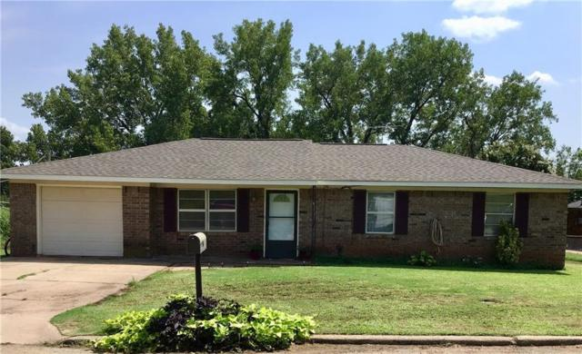 717 W Plum, Chandler, OK 74834 (MLS #833177) :: Homestead & Co
