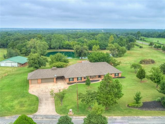 2301 Deer Creek Drive, Edmond, OK 73025 (MLS #834544) :: KING Real Estate Group