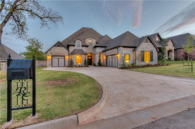 8216 Ridge Creek Road, Edmond, OK 73034 (MLS #834704) :: Erhardt Group at Keller Williams Mulinix OKC