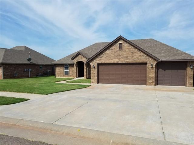 3401 Ashton Drive, Moore, OK 73160 (MLS #835369) :: Wyatt Poindexter Group