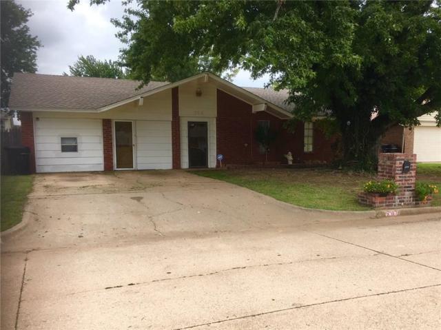 308 S Bouziden Drive, Moore, OK 73160 (MLS #835717) :: Barry Hurley Real Estate