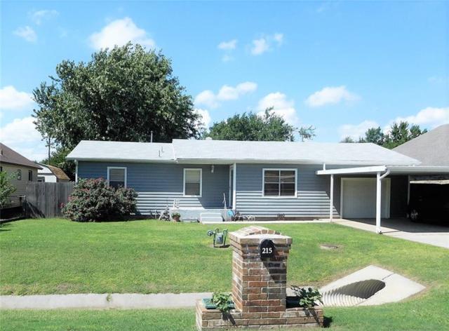 215 N Shepard, El Reno, OK 73036 (MLS #835815) :: Wyatt Poindexter Group