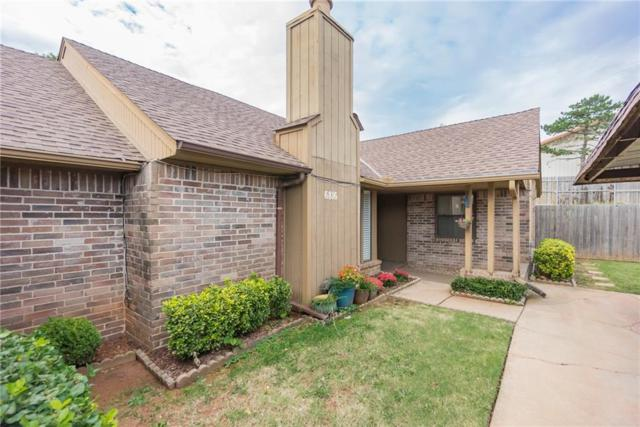 6816 NW 63rd Terrace, Oklahoma City, OK 73132 (MLS #836284) :: Erhardt Group at Keller Williams Mulinix OKC