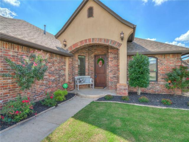 605 Samantha Lane, Moore, OK 73160 (MLS #836494) :: Meraki Real Estate