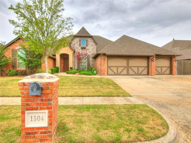 1504 NW 188th Street, Edmond, OK 73012 (MLS #837421) :: Homestead & Co