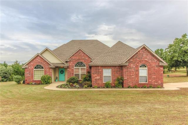 2011 Oak Lane, Blanchard, OK 73010 (MLS #840236) :: Erhardt Group at Keller Williams Mulinix OKC
