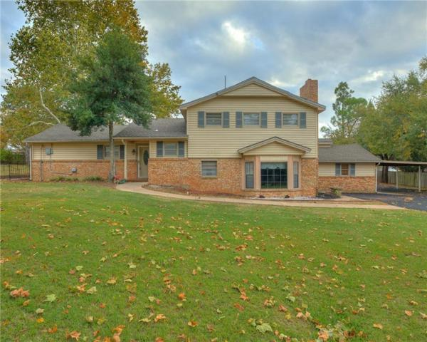 606 W Grant Street, Purcell, OK 73080 (MLS #840467) :: Meraki Real Estate