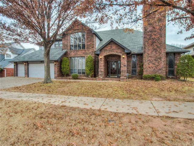 4109 NW 144th Terrace, Oklahoma City, OK 73134 (MLS #843800) :: KING Real Estate Group