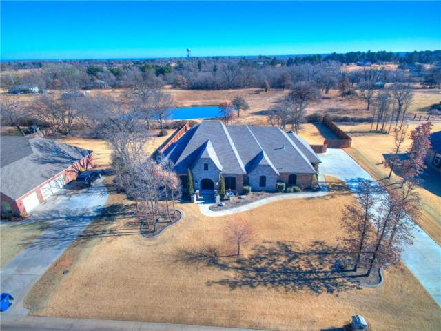 126 Castle Gate Drive, Choctaw, OK 73020 (MLS #844778) :: KING Real Estate Group