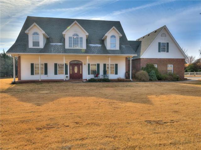 12444 SE 29th Street, Choctaw, OK 73020 (MLS #844890) :: KING Real Estate Group