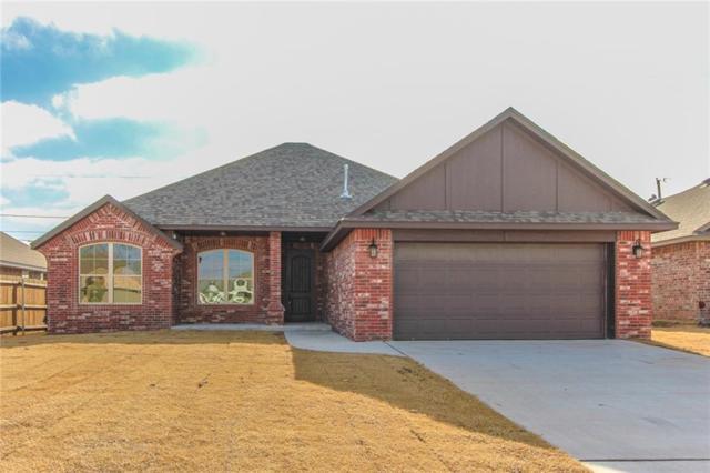 844 Cardan Place, Moore, OK 73160 (MLS #847291) :: Homestead & Co
