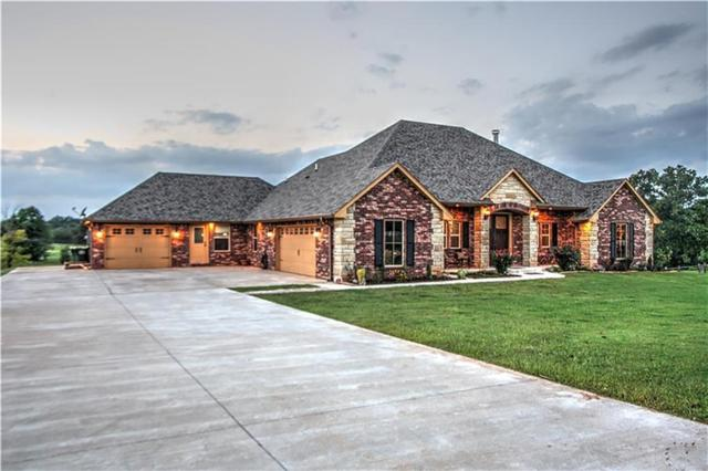 9393 Bear Creek Road, Guthrie, OK 73044 (MLS #847797) :: Erhardt Group at Keller Williams Mulinix OKC