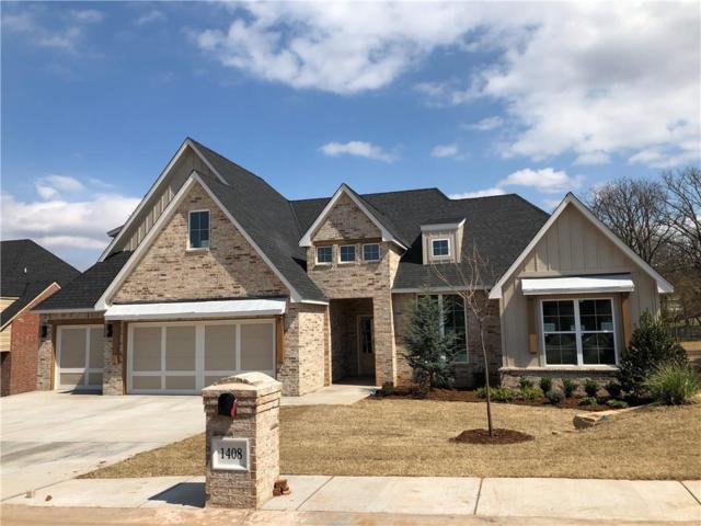 1408 Mason Lane, Edmond, OK 73034 (MLS #851736) :: Erhardt Group at Keller Williams Mulinix OKC