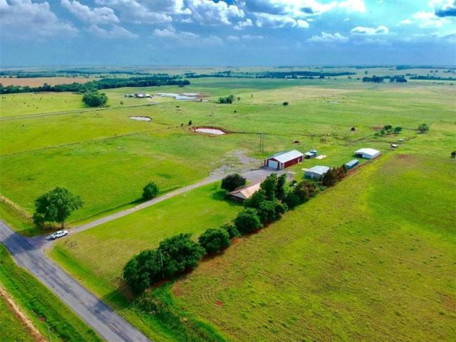 11579 N 2080 Ranch, Canute, OK 73626 (MLS #853318) :: Homestead & Co