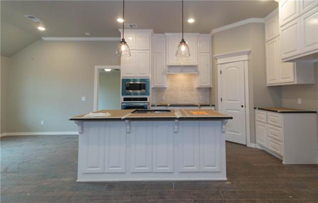 1205 N Beale Terrace, Mustang, OK 73064 (MLS #853629) :: Erhardt Group at Keller Williams Mulinix OKC