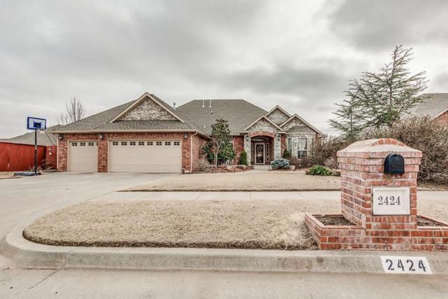 2424 SE 12th Street, Moore, OK 73160 (MLS #854824) :: KING Real Estate Group