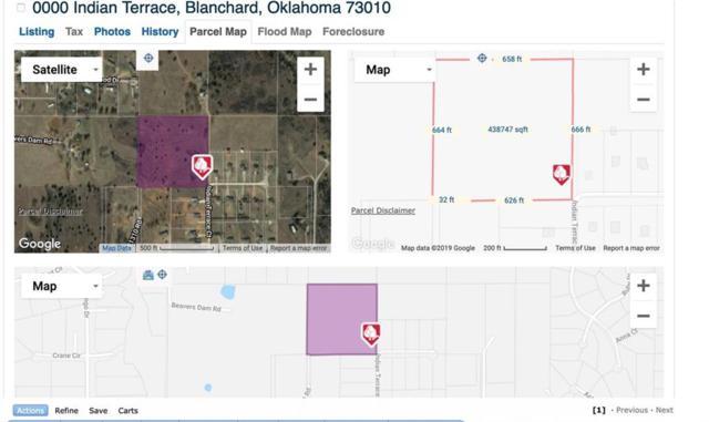 0000 Indian Terrace, Blanchard, OK 73010 (MLS #857893) :: KING Real Estate Group