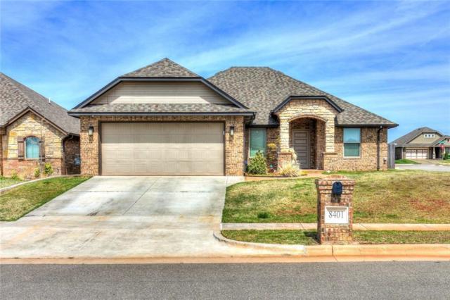 8401 NW 141st Circle, Oklahoma City, OK 73142 (MLS #860110) :: Homestead & Co