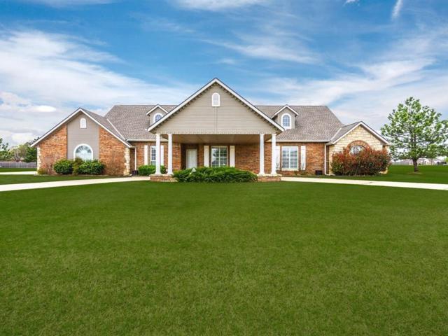 22211 Cedar Farm Road, Edmond, OK 73025 (MLS #861488) :: Homestead & Co