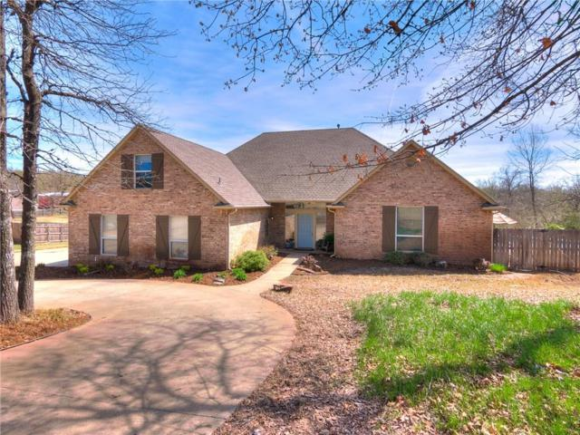 7416 S Plains Avenue, Choctaw, OK 73020 (MLS #861688) :: KING Real Estate Group