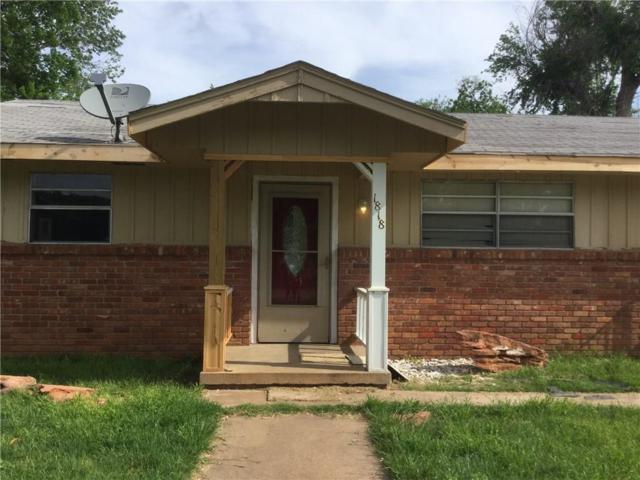 1818 W Florida Avenue, Chickasha, OK 73018 (MLS #863257) :: Erhardt Group at Keller Williams Mulinix OKC