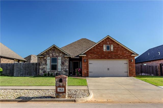 913 Freemont Place, Weatherford, OK 73096 (MLS #864399) :: KING Real Estate Group