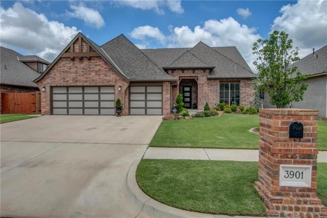 3901 Sendera Lakes Drive, Moore, OK 73160 (MLS #871710) :: Erhardt Group at Keller Williams Mulinix OKC