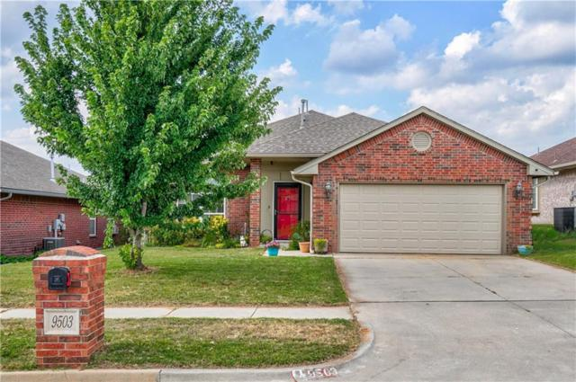 9503 Peachtree Lane, Midwest City, OK 73130 (MLS #874264) :: Homestead & Co