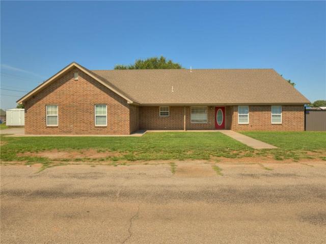 589 N N. Blake Avenue, Hydro, OK 73048 (MLS #874308) :: Homestead & Co