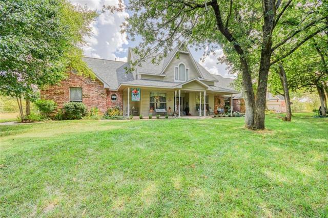 1502 Houser Lane, Blanchard, OK 73010 (MLS #876345) :: Homestead & Co