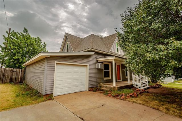1024 N Caddo Street, Weatherford, OK 73096 (MLS #878503) :: Homestead & Co