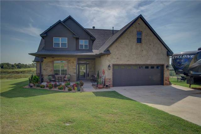 9308 Lake Drive, Piedmont, OK 73078 (MLS #882607) :: Homestead & Co