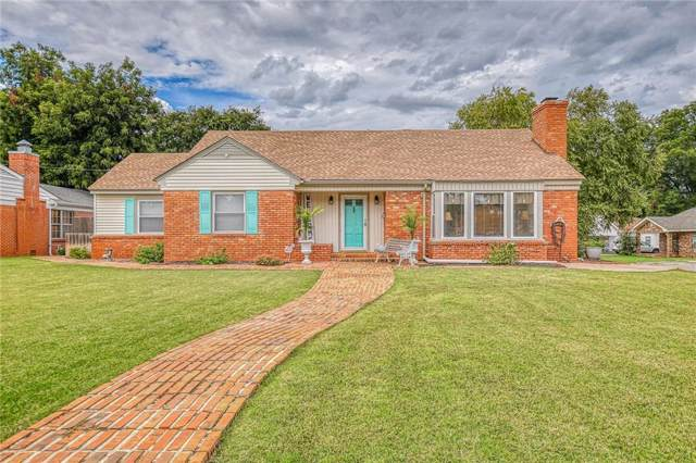 802 S 12th Street, Chickasha, OK 73018 (MLS #883746) :: Homestead & Co